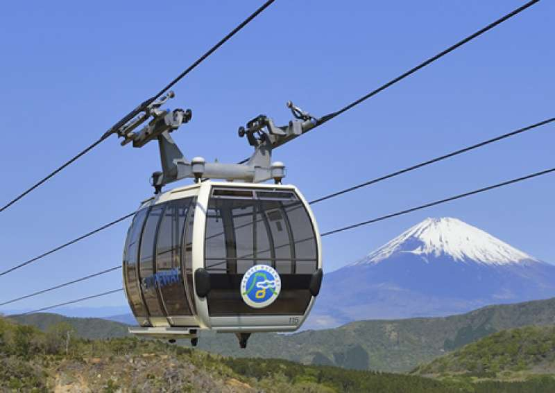 Owakudani Ropeway (Restarted since Oct. 25th, 2019)