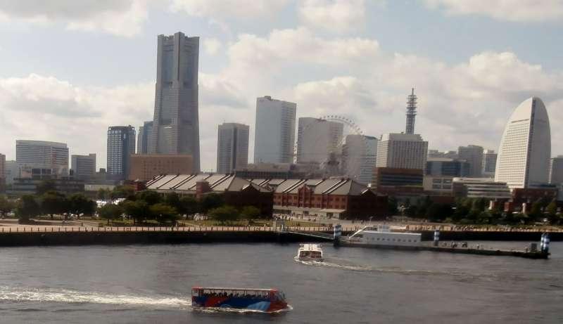 Port Yokohama and Red-brick warehouse