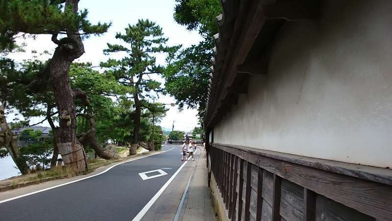 Around Matsue Castle tour