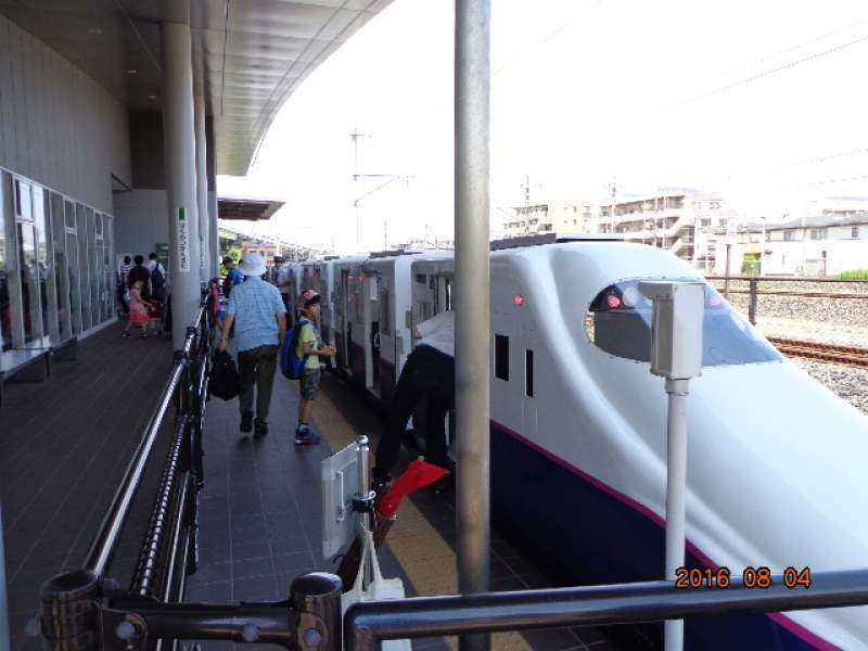 The Railway Museum - Short trip (about 230 m) by mini Shinkansen shuttle  (Free)