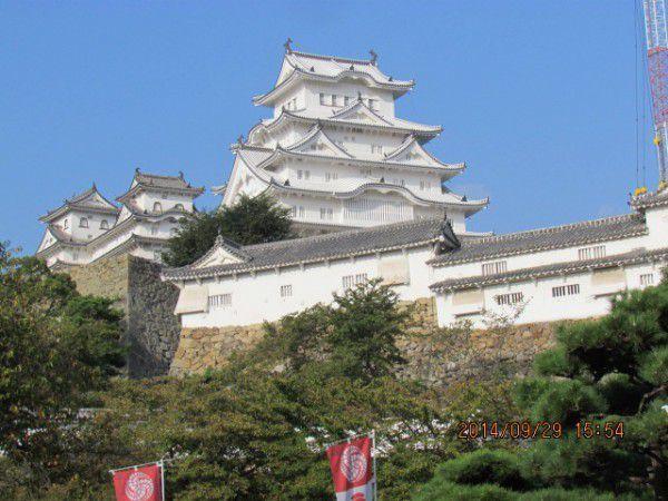 Newly restored Himeji Castle