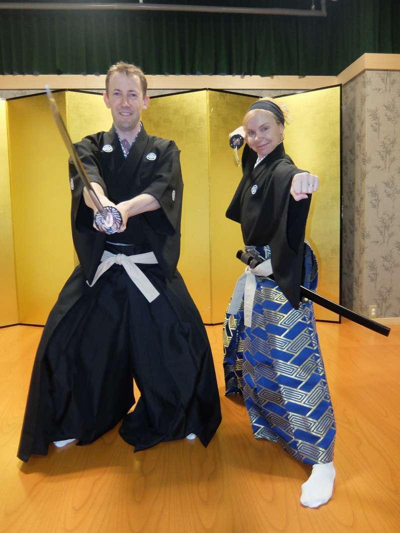Samurai Kembu School in Kyoto: Samurai for a Day - 1 hour lesson -