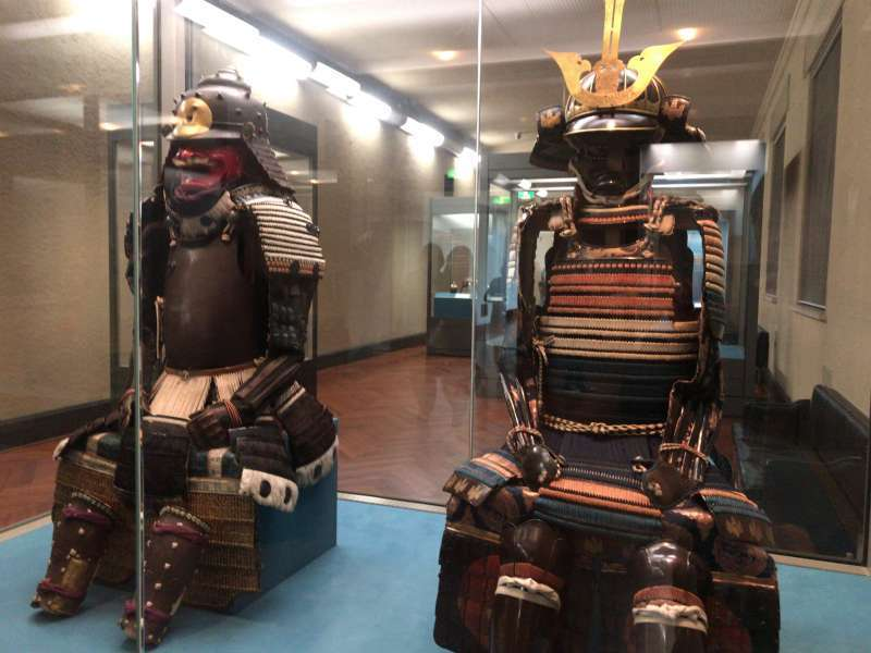 Samurai armor in Tokyo National Museum