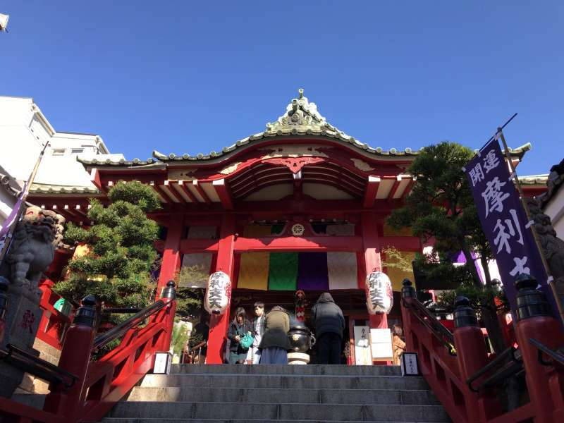 Tokudaiji Temple, a Buddhist temple, located in Ame-Yoko Street