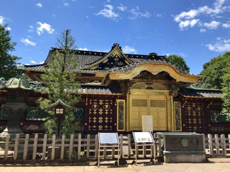 Ueno Toshogu Shrine dedicated to the deified spirits of Tokugawa Shoguns, built in the 17th century