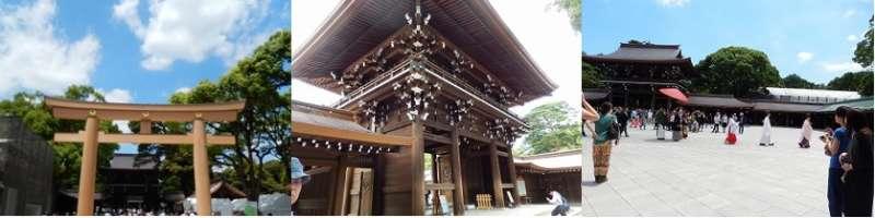 Meiji-jingu in Tokyo