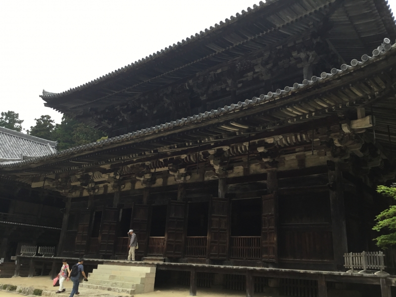 "Calm and Mysterious Engyoji Temple in Himeji City Famous for the Filming Location of ""Last Samurai"""