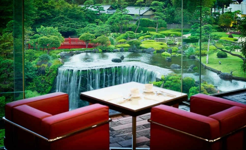 Mr.Otani - the founder of HOTEL NEW OTANI and his breath taking Japanese Garden