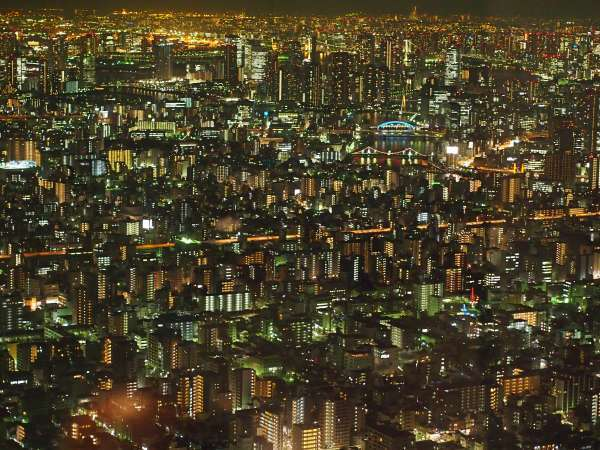 Four Night Views Across Tokyo