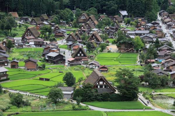 Four Gifu Sightseeing Spots