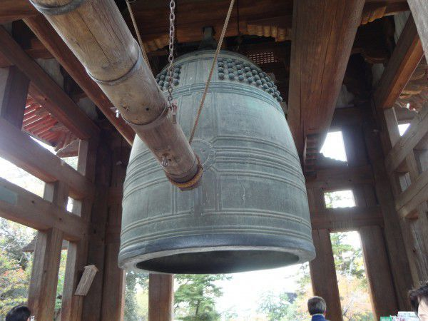 Great Bell at Todaji Temple