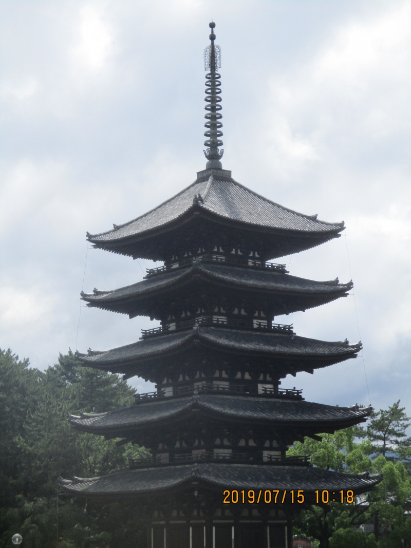 The second tallest pagoda in Japan