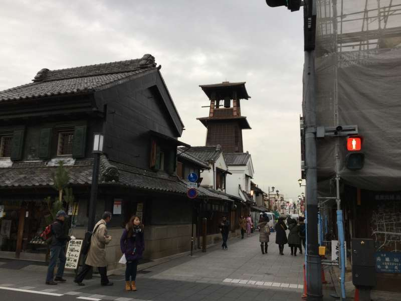The most famous symbol of Kawagoe, Tokino Kane or Bell Tower.