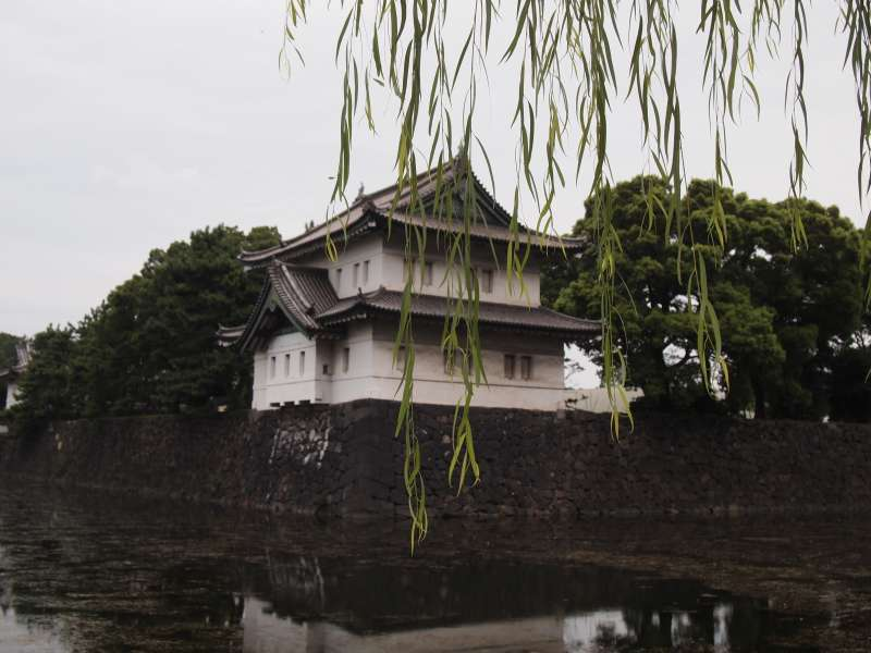 Watch tower at Imperial palace ground