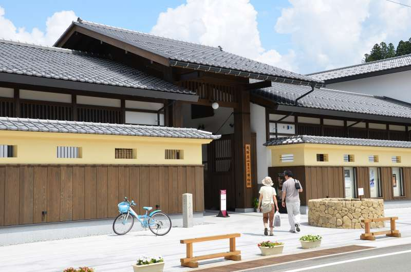 Takayama Museum of History and Art, which is located in the Old Town Area, was once a storehouse of an old local family.