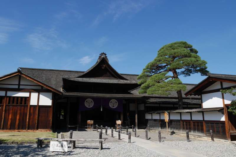 Takayama Jinya is the only remaining govermental office from the Edo period in Japan.