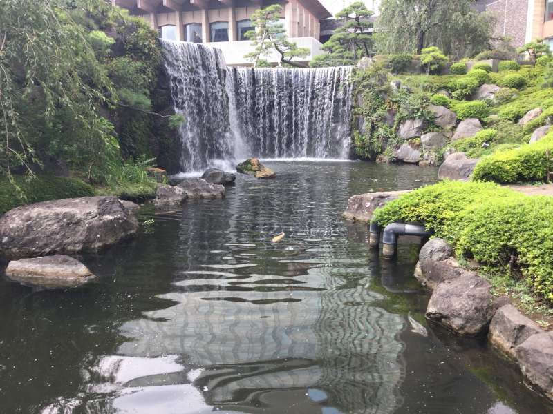 7a. Hotel New Otani's Japanese Garden (Water fall)