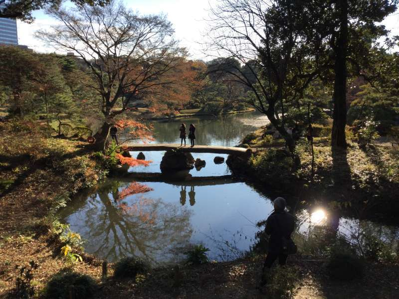 4a. Rikugien Garden (Stone bridge named Ugetsu-kyo)