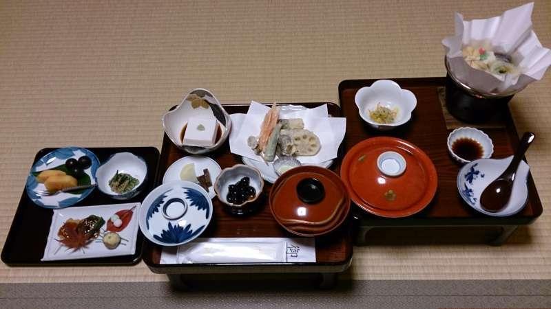 Shojin Ryori (Buddhist Vegetarian Food)