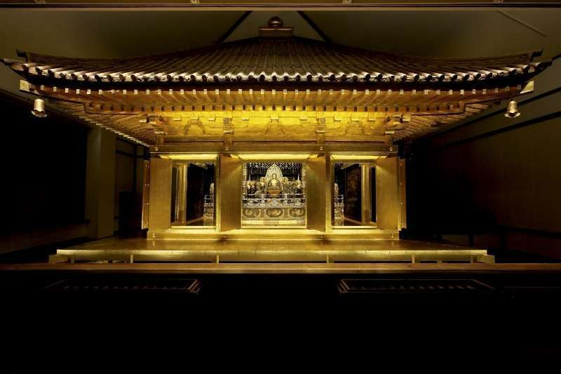 Konjikido Golden Hall in Chusonji Temple
