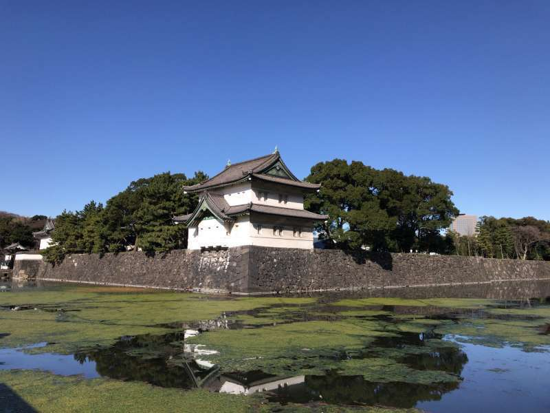 Imperial Palace East Garden, located in the grounds of former Edo Castle, in Marunouchi area