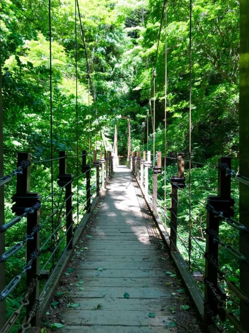 Miyama Suspension Bridge