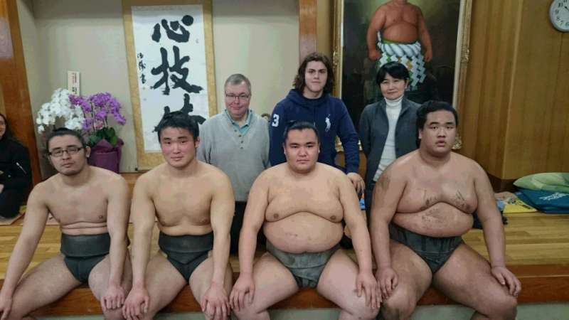 Sumo Wrestlers Morning Training Watch in Nagoya (June and July only)
