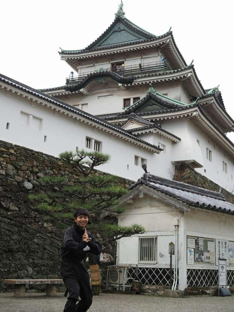 Ninja at Wakayama Castle