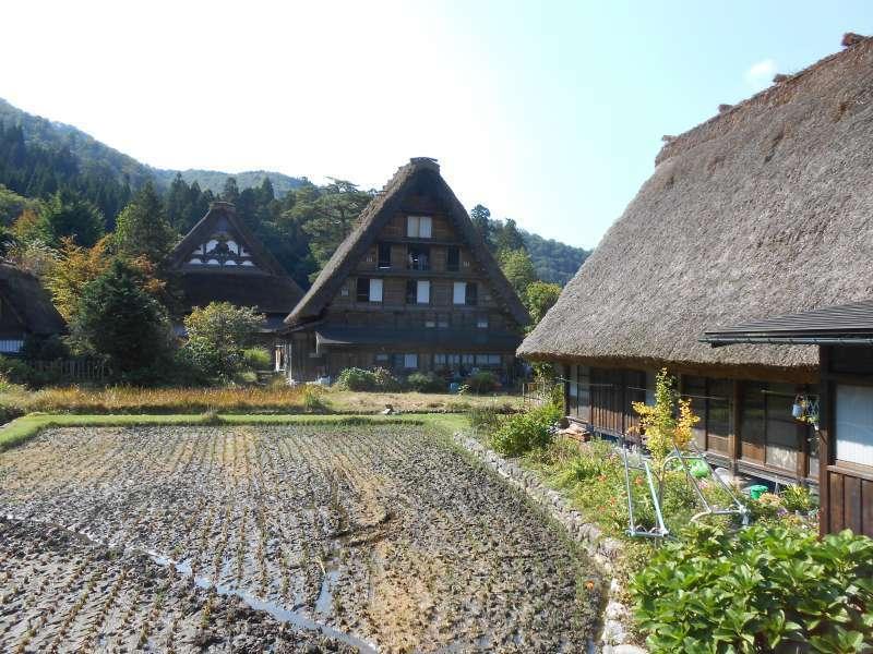 Myozenji temple and Gassho farmhouses.