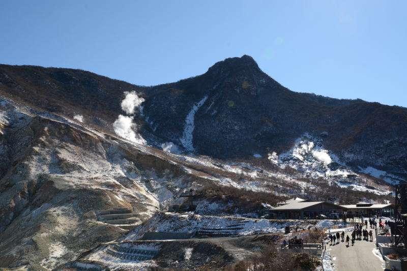 Owakudani : You can feel the active volcano