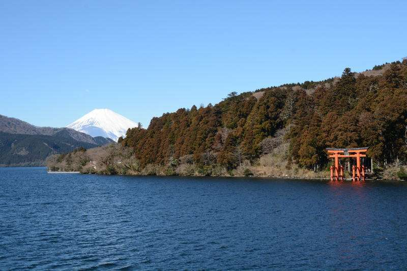 One day trip to Hakone taking kinds of public transportation