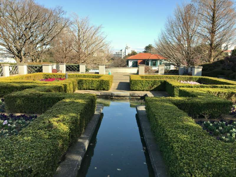 Yamate Italian Garden, the Italian Consulate formerly located on this site, in Yamate area