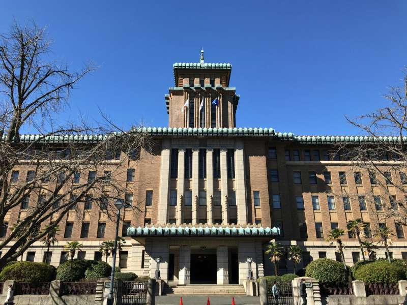 King's Tower - Kanagawa Prefectural Office in Kannai area