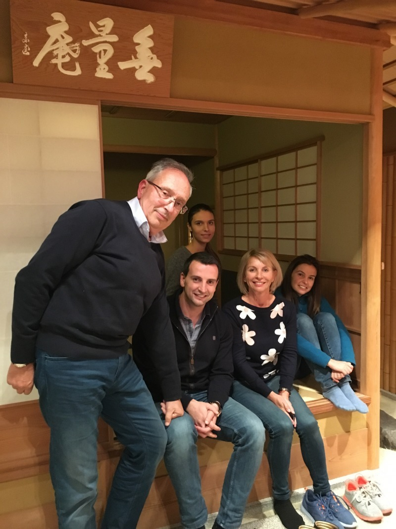 They enjoyed tea ceremony experience very much. Thank you!