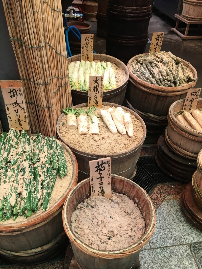 Tsukemono: Japanese pickles
