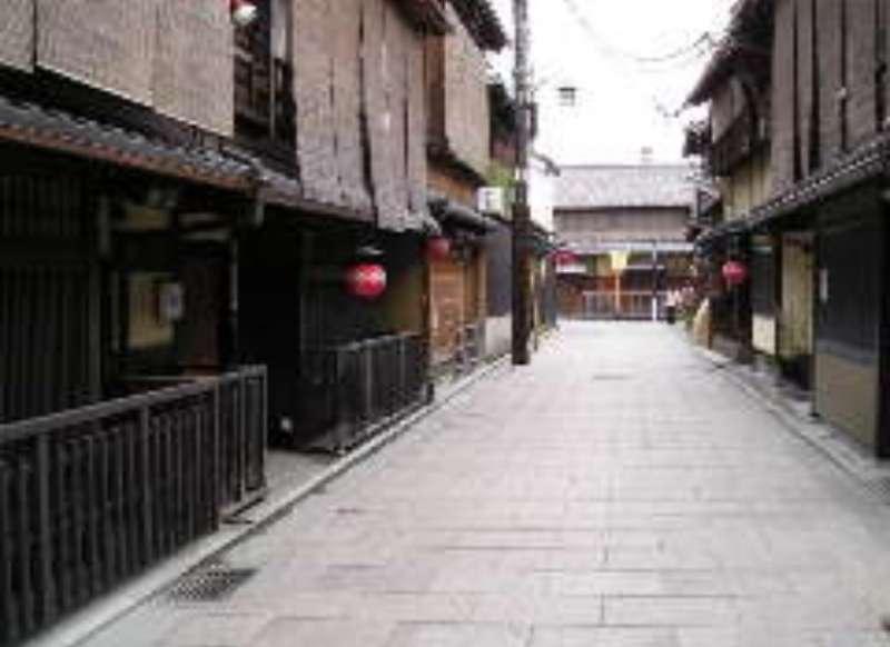 scene of Gion area