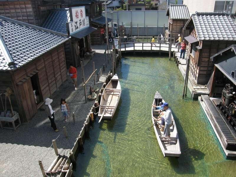 Bekabune (fishermans' boat) in the museum