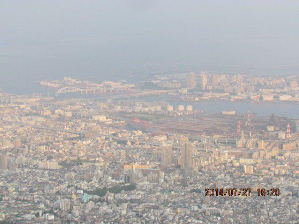 Kobe Portpia Island and Kobe Airport