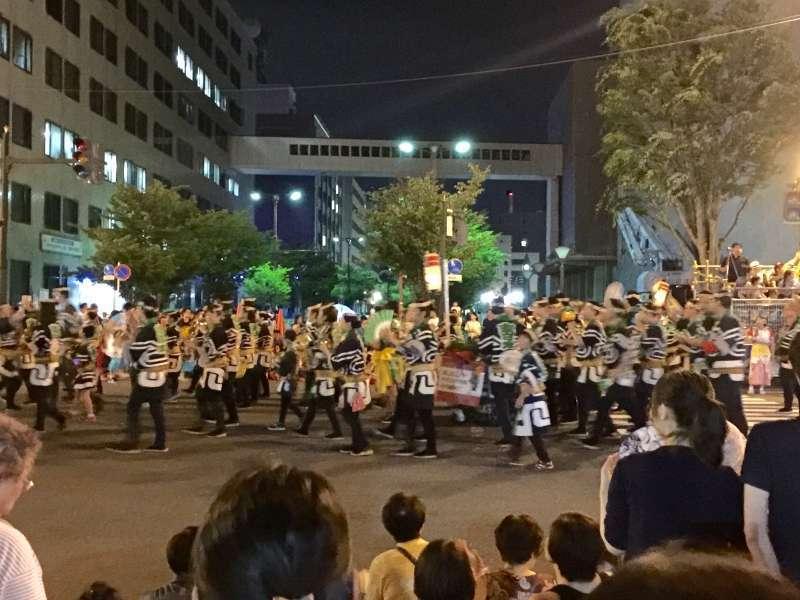 Nebuta performers