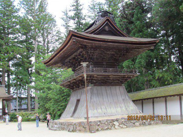 The bell tower of Kongobuji
