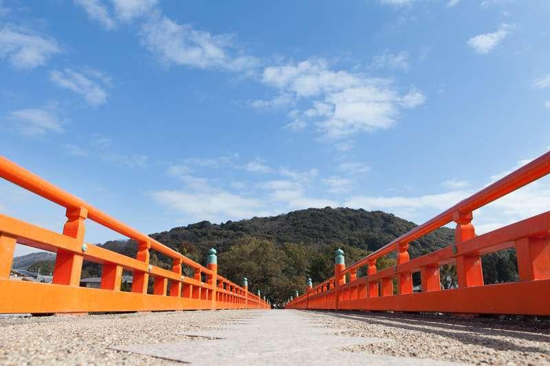 Asagiri-bashi Bridge spanning the Uji River