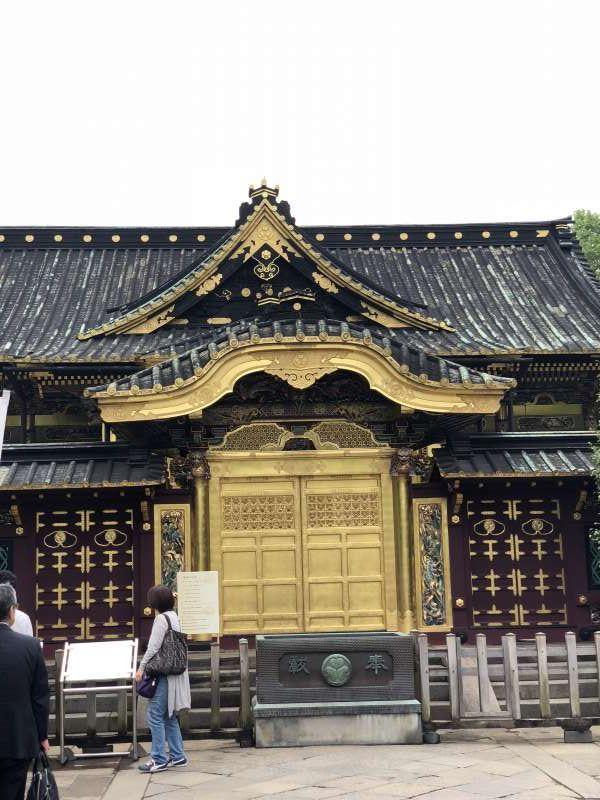 Ueno Toshogu Shrine in Ueno Park built in the 17th century.  Nikko has Nikko Toshogu Shrine.
