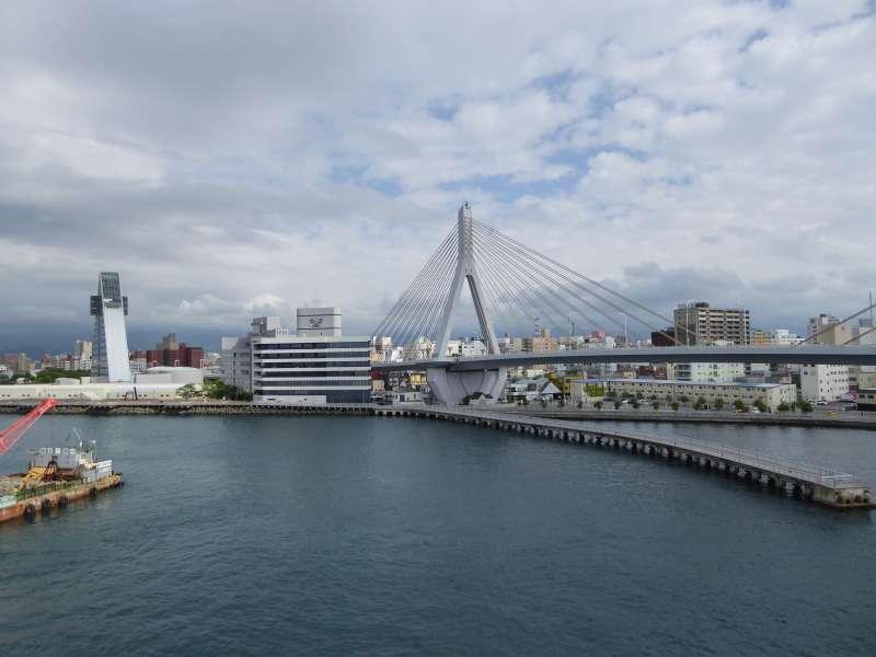 Vue de la ville d'Aomori