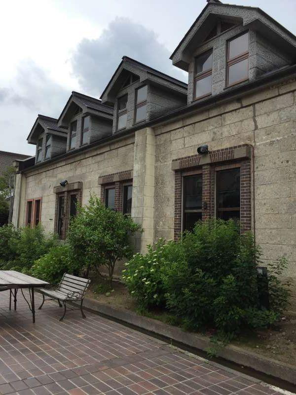 Sekino-Ichi brewery's stone warehouse.