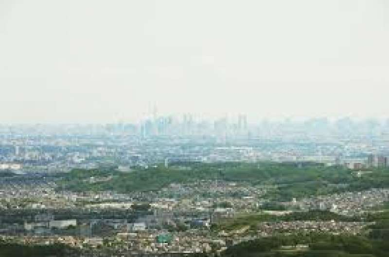 You can view a wide panorama of the city including Tokyo.