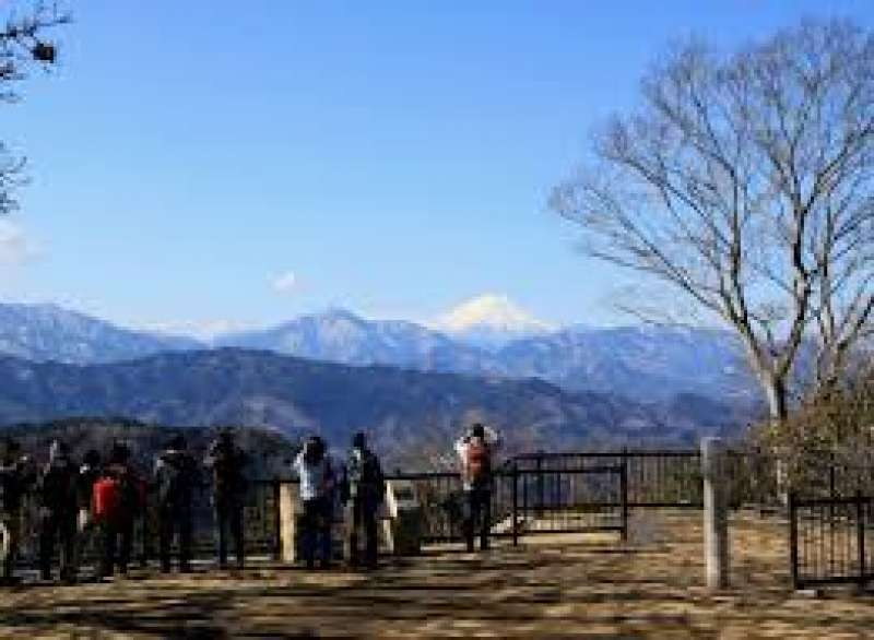 You can view Mt. Fujisan, if the weather condition is good.