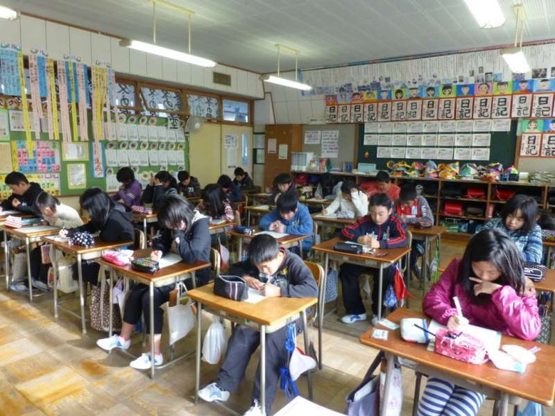 Japanese School and Sightseeing Private Tour in Aomori