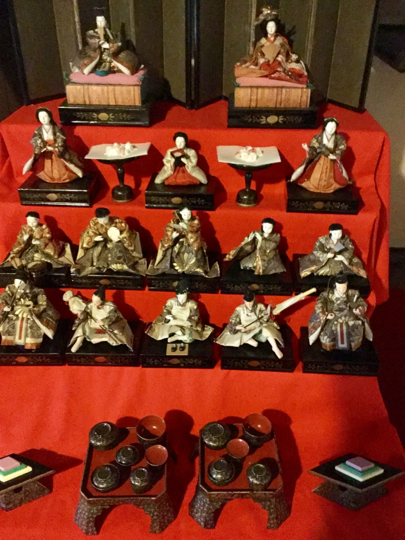 Doll festival at old Yanahara house.