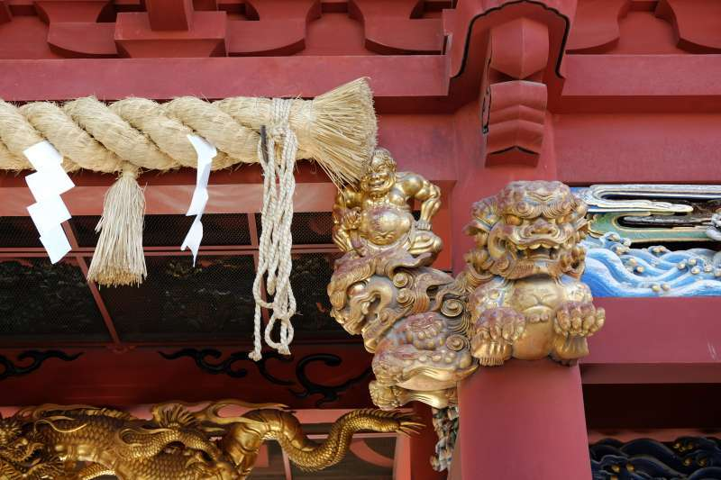 Carvings of Shizuoka Sengen Shrine
