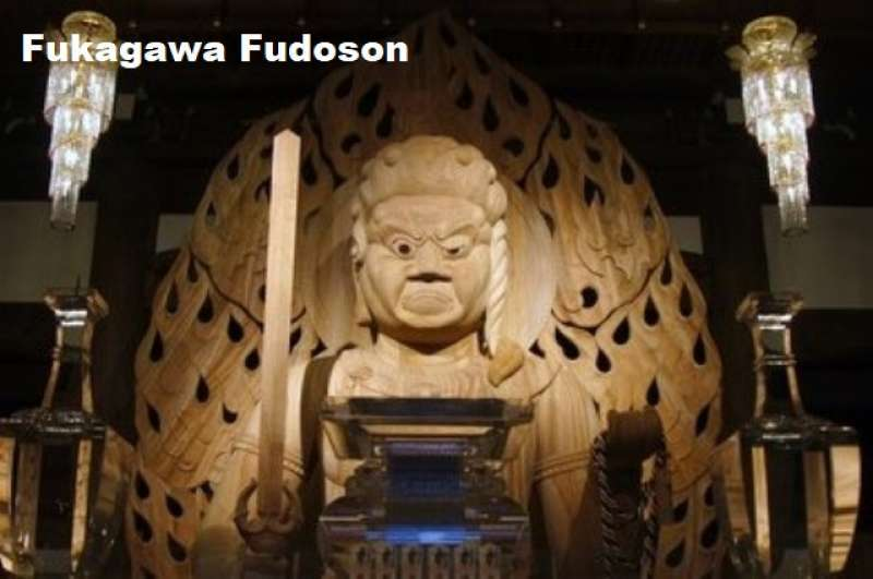 9. Meet the Fudo Myo-O, a God of Fire, at Fukagawa Fudoson